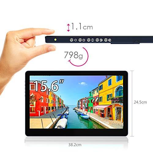 GeChicOn-Lap1503I15インチフルHDタッチパネル搭載モバイルモニタON-LAP