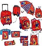 Belldessa Regenschirm -  Feuerwehrmann Sam  - Kinderschirm Ø 73 cm - Kinder Stockschirm - Regenschirm - Schirm für Jungen - Kinderregenschirm / Glockenschirm - Feuerw..