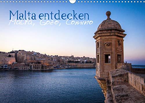 Malta entdecken Malta, Gozo, Comino (Wandkalender 2021 DIN A3 quer)