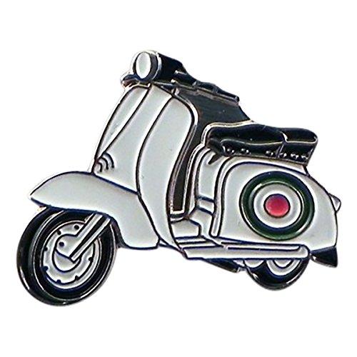 GTR-Prestige Giftware XJKB6-17 Anstecknadel mit Motorroller, italienisches Metall, emailliert, Anstecknadel