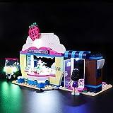BRIKSMAX Kit de Iluminación Led para Lego Friends Cafetería Cupcake de Olivia,Compatible con Ladrillos de Construcción Lego Modelo 41366, Juego de Legos no Incluido