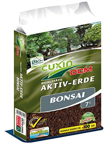 Cuxin 30712 Aktiv-Erde für Bonsai 7 Liter - Spezialerde mit Lava und Sand
