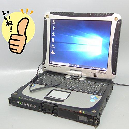 ★日本製★ ★即使用可能!中古ノートパソコン タフブック TOUGHBOOK★ Windows 10 Pro 64bit搭載 パナソニック Panasonic CF-19 /CF-19RW1ADS /高速Core i5 540UM 1.20Ghz/メモリー 4GB/HDD 160GB/10.4インチ タッチパネル機能付き液晶/無線LAN(Wi-Fi)搭載/Bluetooth内蔵/Microsoft Office 2010搭載