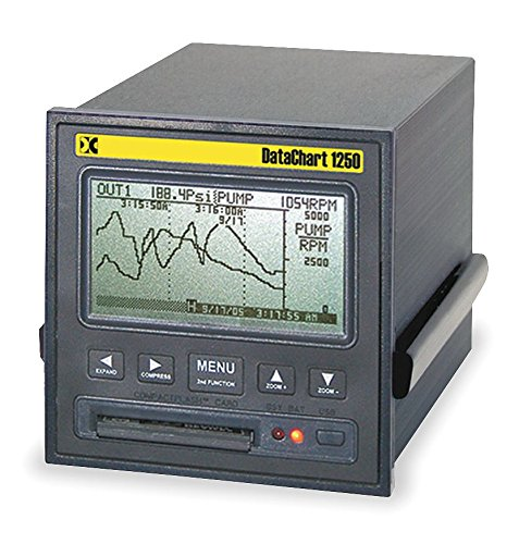 Monarch Instrument - DC1250-S10 - Paperless Recorder, Power 100 to 240 VAC