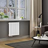 ELEGANT Paneelheizkörper Horizontal 630 x 616 mm Weiß Badezimmer/Wohnraum Einlagig Horizontal...