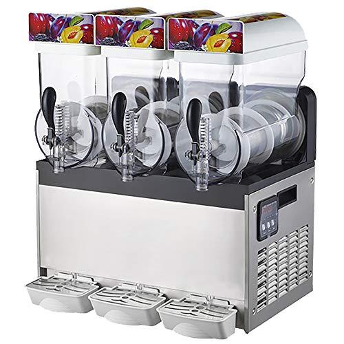 Máquina de granizado de hielo Máquina de fabricación de bebidas de enfriamiento bebidas congeladas Máquina de jugo de granizado de enfriamiento con tanque de para bar de hotel y café