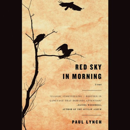 Red Sky in Morning audiobook cover art