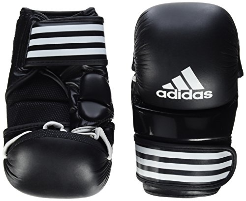 adidas Training Grappling Glove Boxhandschuhe, Schwarz/Weiß, S