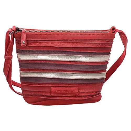 FREDsBRUDER | Poppy | Umhängetasche - rot | red, Größe:1, Farbe:rot (One Size, red)