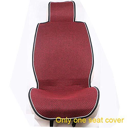 WANGXIAO autostoelhoes, microvezel autostoelbeschermer, sneldrogend zitkussen, stevig antislip, ademend, universeel, comfortabel.