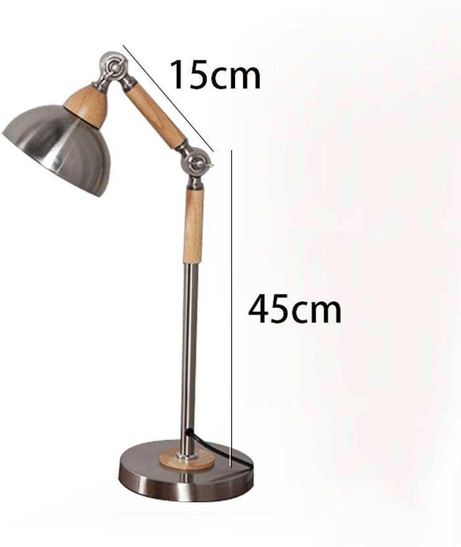 AME Tischlampe Nordic Modern minimalistische Tischlampe Schlafzimmer Nachttischlampe Retro Industrial Style Eisen, Studie Wohnzimmer Büro Tischlampe B07JB2ZM7P       2019