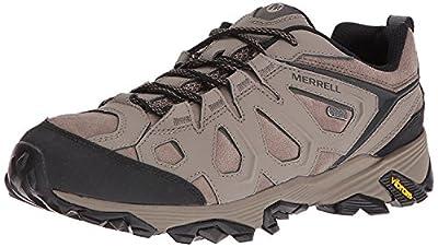 Merrell Men's Moab FST Leather Waterproof Hiking Boot,Boulder,US 7.5 W