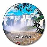 Catarata Argentina Iguazú Imán de Nevera, imánes Decorativo, abridor de Botellas, Ciudad turística, Viaje, colección de Recuerdos, Regalo, Pegatina Fuerte para Nevera