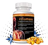 Inflamaxx - Natural Support for The Immune System to Fight Inflammation. Supports Joints, Arteries, Lungs, and Brain. Have Better Flexibility, Mobility, Joint Function and Overall Healthy Aging.