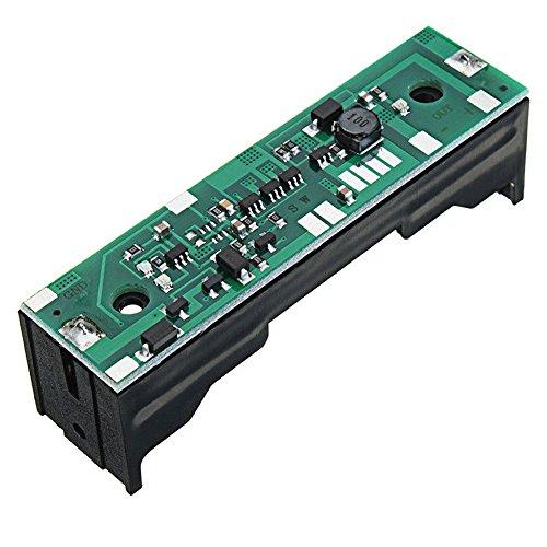 4-in-1-Platine USV für Raspberry Pi 18650 Akku-Ladegerät, 3,7 V, bis DC 5 V, 12 V, mit Schutz 5V Output