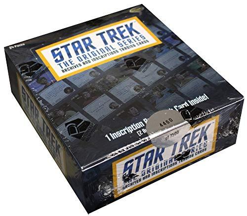 Rittenhouse 2020 Star Trek TOS Archives & Inscriptions Factory Sealed Trading Card Box
