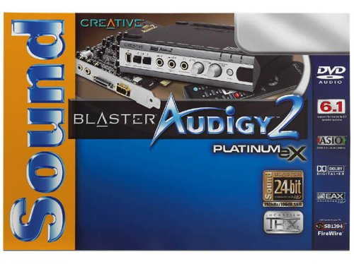 Creative Labs SoundBlaster Audigy 2 Platinum EX
