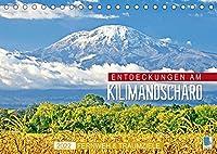 Fernweh und Traumziele: Entdeckungen am Kilimandscharo (Tischkalender 2022 DIN A5 quer): Kilimandscharo: Schnee in Afrika (Monatskalender, 14 Seiten )