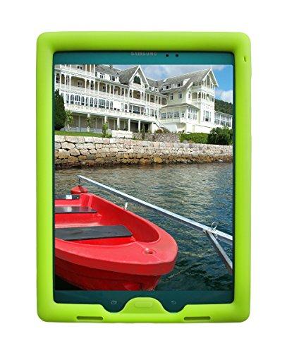 BobjGear Carcasa resistente para tablet Samsung Galaxy Tab A 9.7 modelo SM-T550 y Tab A Plus 9.7 modelo SM-P550 (No para Tab A 10, SM-T580) - funda protectora (Verde)