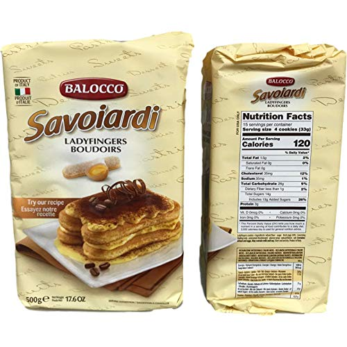 Balocco Savoiardi Lady Fingers - 17.6 oz (2 Pack)
