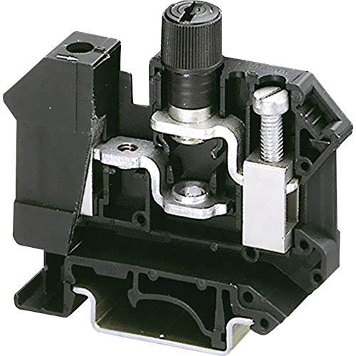 Phoenix Contact UK 10-DREHSI (5X20) 3005109 Sicherungsreihenklemme Polzahl: 2 0.5 mm² 16 mm² Schwarz 1 St.