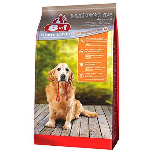 8in1 Trockenfutter Hund Senior, Huhn Größe 3kg