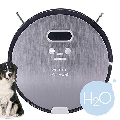 AMIBOT Animal Premium H2O – Robot Aspirador y friegasuelos