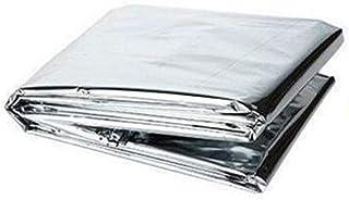 GOIOD アルミブランケット 簡易寝袋 アウトドアや防災に 防寒 音が少ない 静音 緊急ブランケット 遮熱シート サバイバル アルミ ブランケット