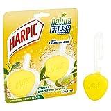 Harpic Active Fresh Twin RIM Bloquer Citrus 2x 40g
