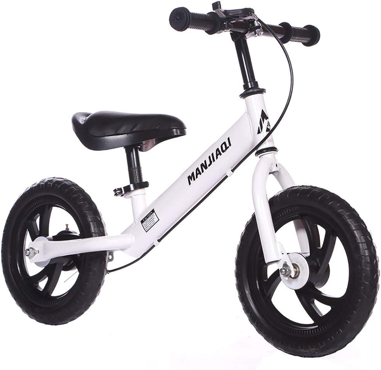 promociones emocionantes Bicicletas sin pedales Bicicleta Ligera de Equilibrio con con con Frenos, neumáticos de Goma para Niños sin Pedales Bicicletas de Primer Entrenamiento, Edades 2,5+ (Color   B)  el mejor servicio post-venta