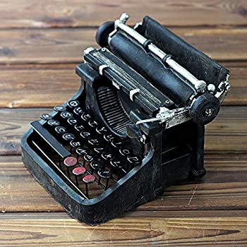 LUCY STORE Creative Simulation Typewriter Resin Crafts Nostalgic Home Living Room Bar Decoration Decorations Vintage Gifts