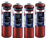 4x Propane 400g Bottle Disposable Gas Cylinder plumbers torch jet burner