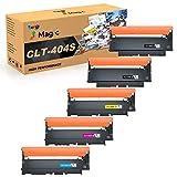 7Magic Cartuchos de Tóner Compatible para Samsung CLT-P404C CLT-K404S CLT-C404S CLT-M404S CLT-Y404S para Samsung Xpress C480W C480FW C430W C480FN C482W C483W C432W C433W C430 C480 (Paquete de 5)