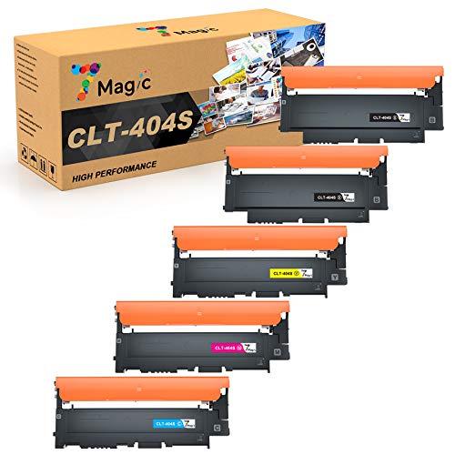 7Magic CLT-404 Kompatibel für Samsung CLT-404 CLT-P404C CLT-K404S CLT-C404S CLT-M404S CLT-Y404S Kompatibel für Samsung Xpress SL-C430 SL-C430W SL-C480 SL-C480W SL-C480FN SL-C480FW Drucker(5 Packung)