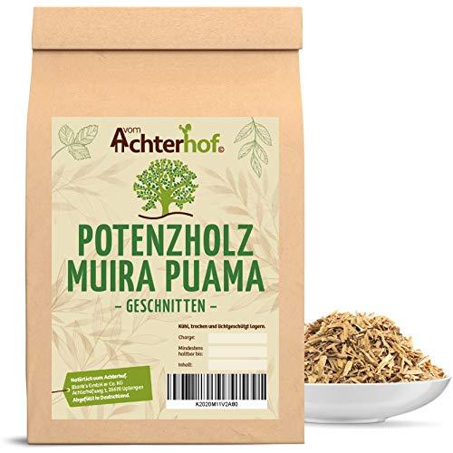 Potenzholz Muira Puama Tee geschnitten (500g) Potenz-Holz vom-Achterhof