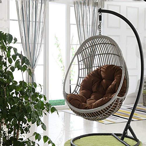 19x47inch Antiscivolo Cuscino per Sedia Spessa e Lunga Cuscino per sedie Pieghevoli con Cinturino-A 48x120cm OR/&DK Soft Cuscino Sedia a Dondolo Senza Sedia