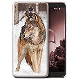 Stuff4 Phone Case for Alcatel 1X 2019 Wildlife Animals Wolf