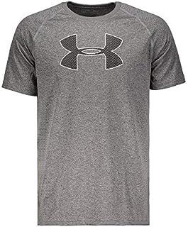 Camiseta Under Armour Big Logo Cinza