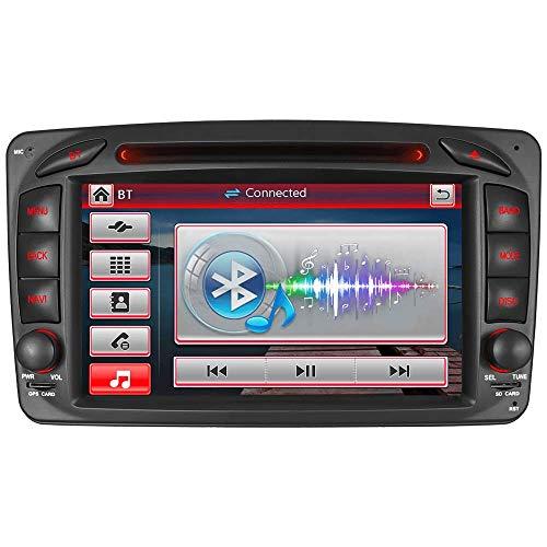"7\"" AUTORADIO DVD GPS Navigation NAVI USB SD BT Autoradio VMCD CD Wechsler öDAB+ Für Mercedes Benz C Klasse W203 CLK W209 W463 Vito WM"