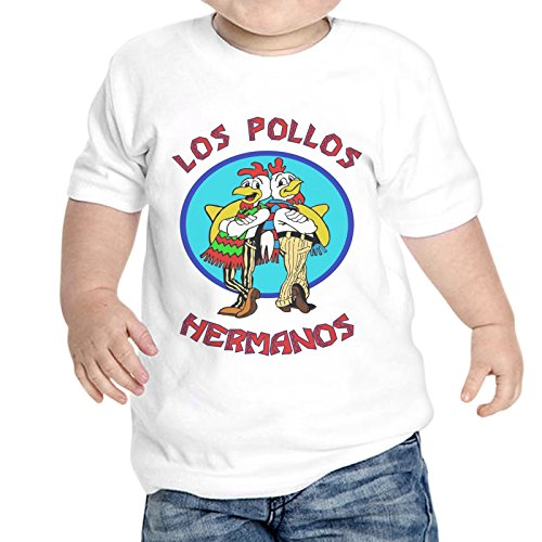 T-Shirt Neonato Los Pollos Breaking Bad Serie TV