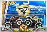 Hot Wheels Monster Jam Demolition Doubles Metal Mulisha VS Soldier Fortune