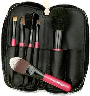 Misslyn Makeup Brush Set, Pink Mb291