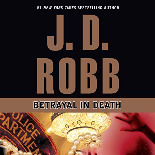Betrayal in Death audiobook cover art