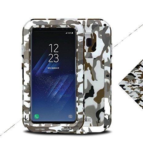 Carcasa antigolpes para Samsung Galaxy S8 Plus, Army, diseño con Texto Love Mei Francia, Color Negro