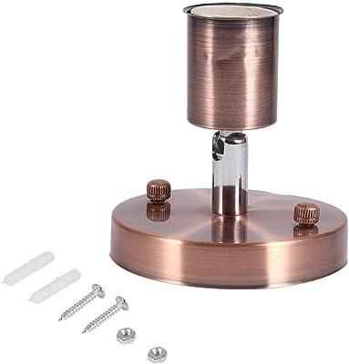 Fdit E27/E26 - Portalámparas de Metal con Cadena para Colgar ...