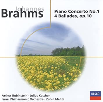 Brahms: Piano Concerto No.1 in D minor/4 Ballades, Op.10