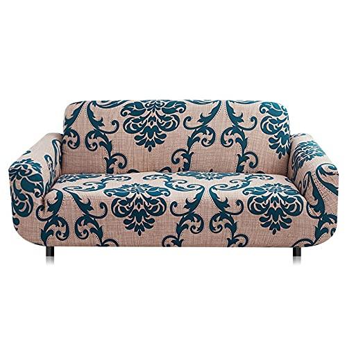 Funda de sofá elástica universal para sala de estar con combinación de hogar, funda de sofá elástica, funda de sofá A26 de 3 plazas
