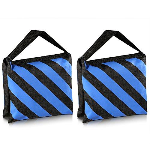 Neewer® Kit 2 Negro/Azul Bolsa Arena Tareas Duras