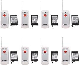 Homyl 8 Pieces Wireless RF Remote Control Switch Transmitter DC 12V 10A 1000m