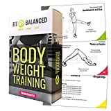 Bodyweight Trainingskarten, komplette Workouts gestalten, Fitness für den ganzen Körper, Sport zuhause (+ Jede Übung als Video)